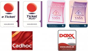 Firemné darčekové poukazy Ticket Restaurant Edenred Vaša Stravovacia Doxx