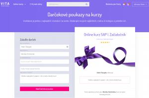 Darčekové poukazy vita online kurzy