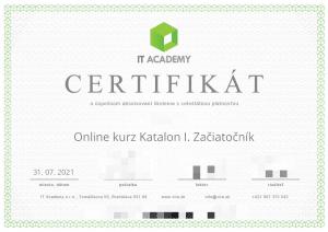 VITA certifikát slovenský online kurz