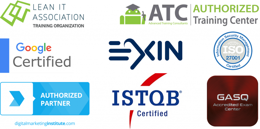 ISTQB EXIN ISO Certifikácie