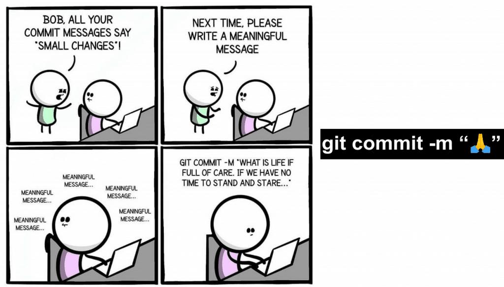 Git commit m